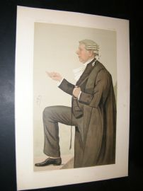 Vanity Fair Print 1887 Frank Lockwood, Legal